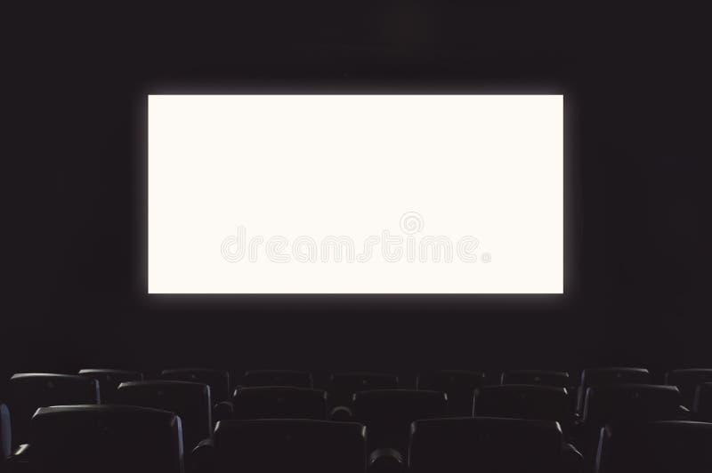 戏院空的大厅 库存照片