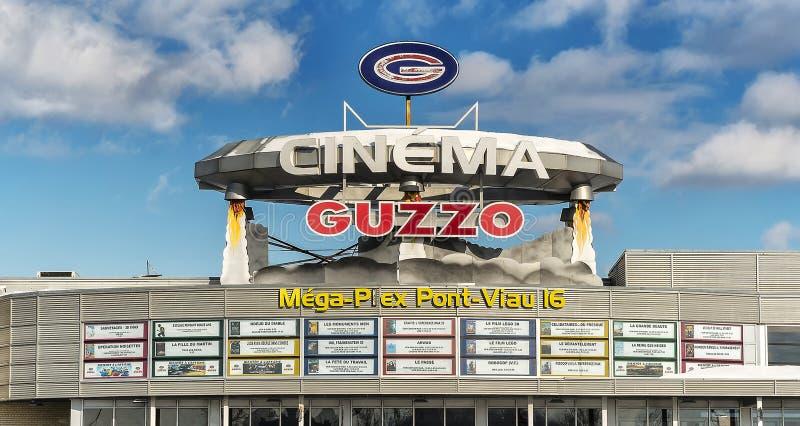 戏院Guzzo 免版税库存图片