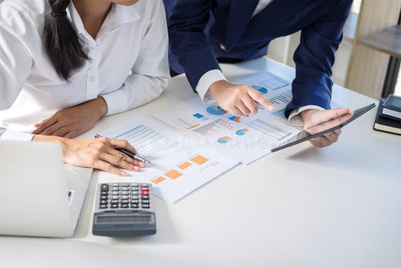 成为会议和简报,企业同事c配合的伙伴  免版税库存图片