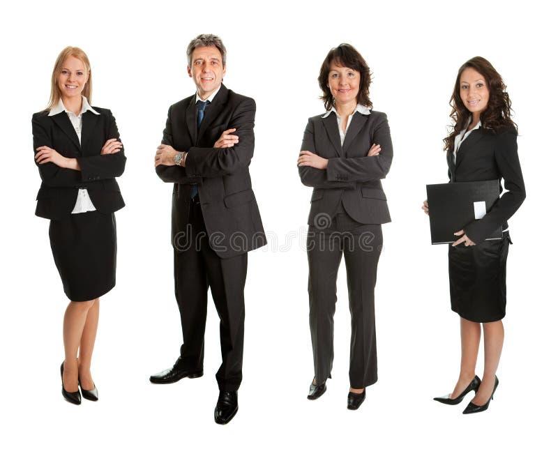 成功业务组的人 免版税库存图片
