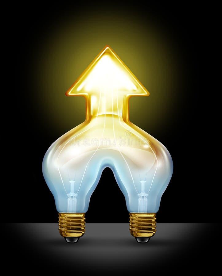 成功的创造性的合伙企业 向量例证