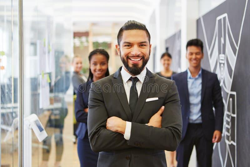 成功的商人或顾问 免版税图库摄影