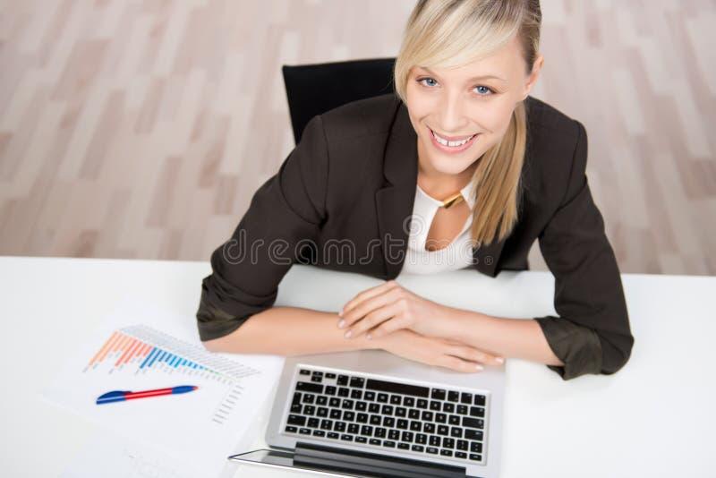 成功的女实业家 库存照片