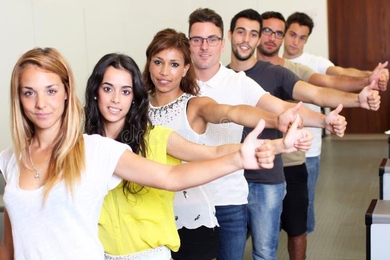 成功的学生 免版税库存图片