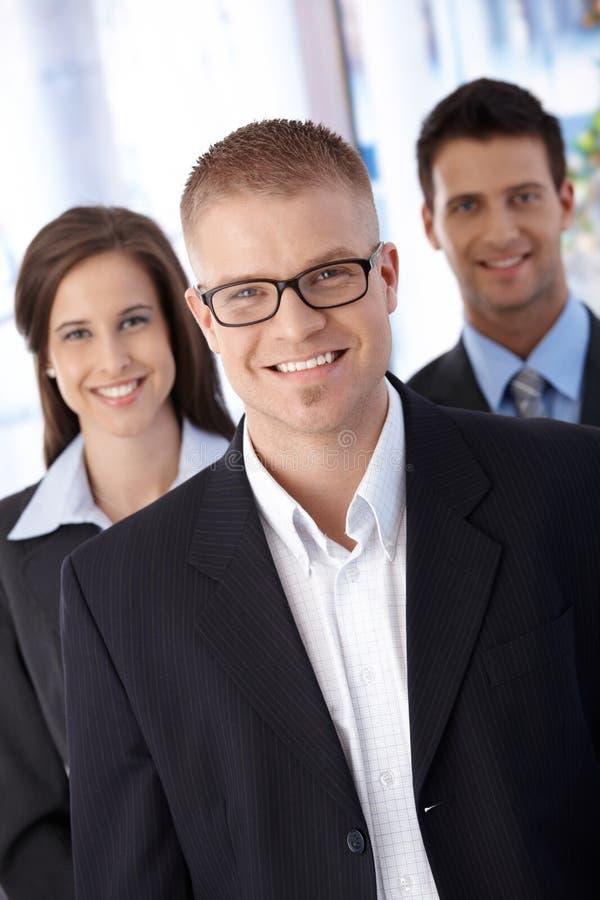 成功的新businessteam 免版税图库摄影