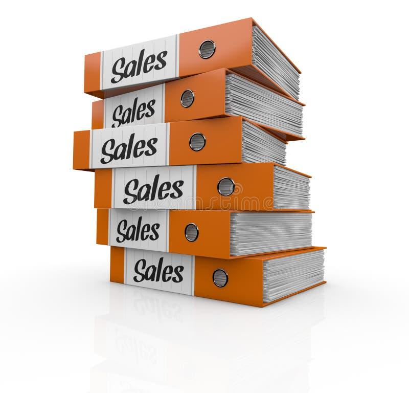 成功的概念在销售额的 库存例证