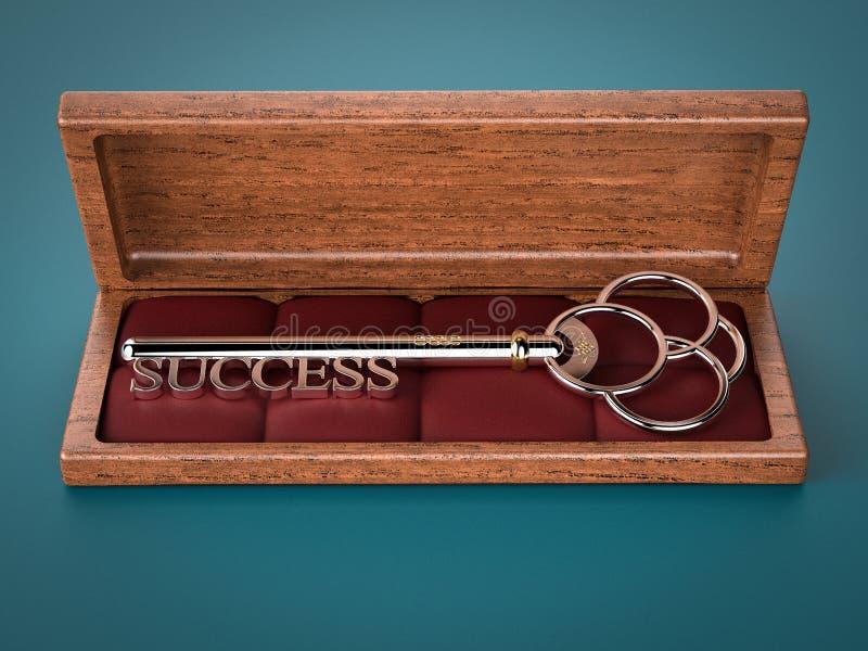 成功的钥匙 库存图片