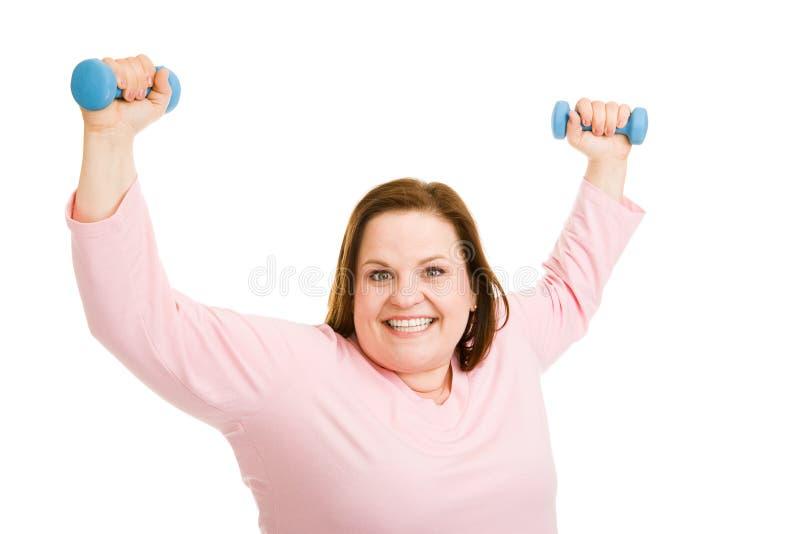 成功的锻炼 免版税库存照片