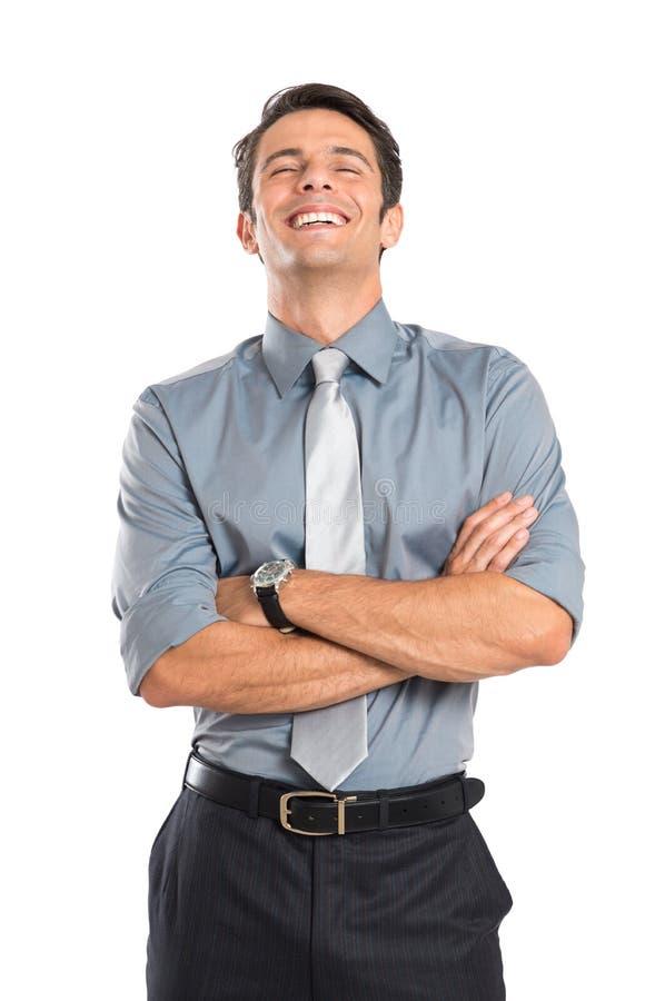 成功的年轻商人 免版税库存图片
