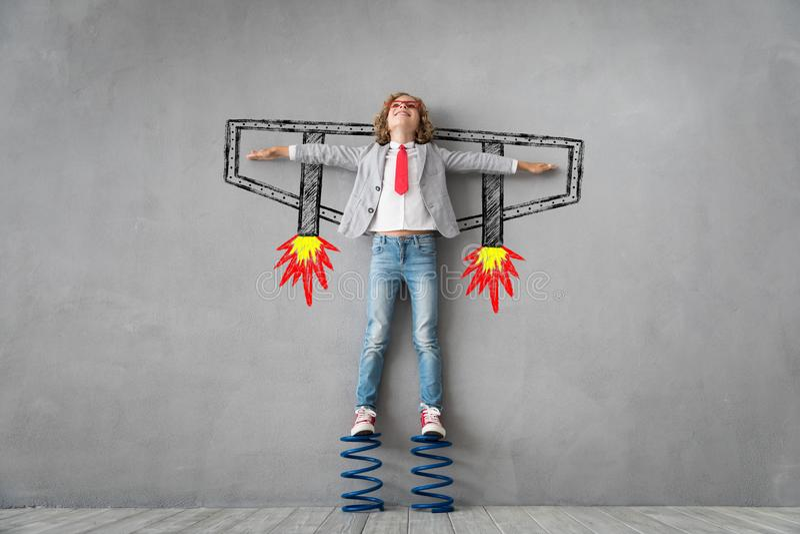 成功,创造性和想法概念 图库摄影