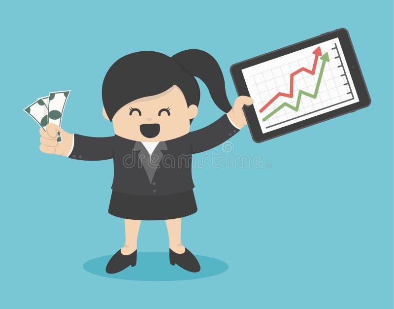 Download 成功从播放股票 向量例证. 插画 包括有 概念, 愉快, 例证, 经济, 商业, 计算机, 市场, 财务 - 62527882