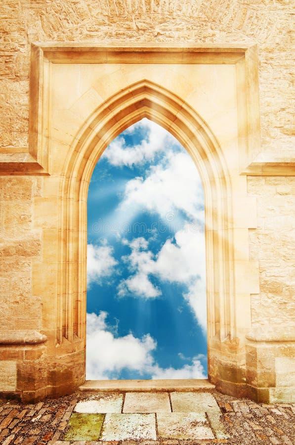 天堂的门 免版税库存照片