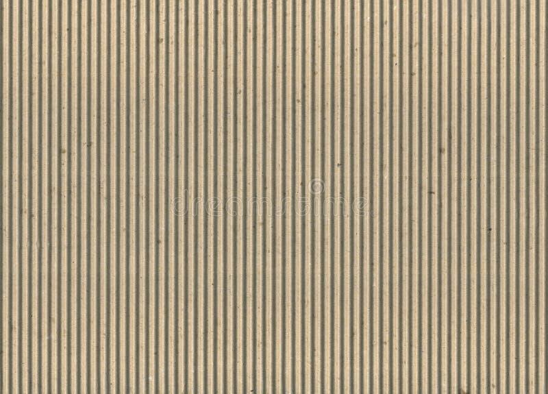 成波状的纸板 库存图片