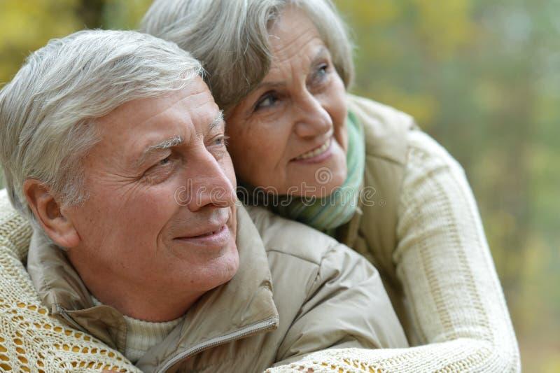 成熟夫妇 免版税库存图片