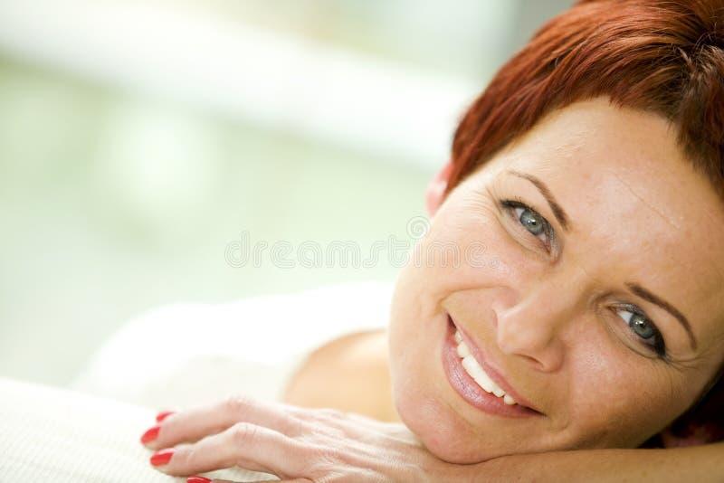 成熟妇女 免版税库存图片