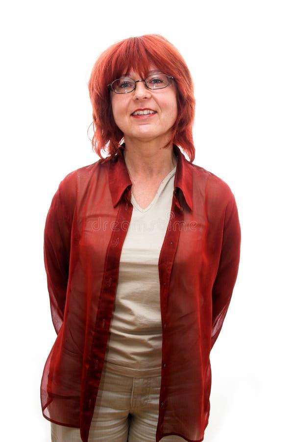 成熟妇女 免版税库存照片