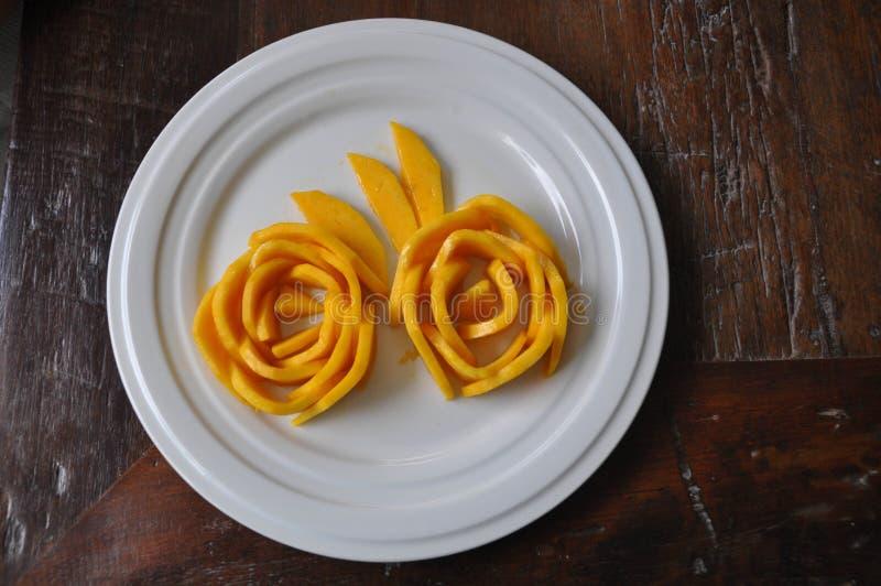 成熟的芒果 免版税库存图片