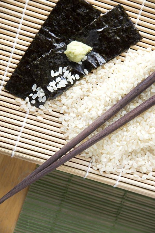 成份日本人食物 图库摄影