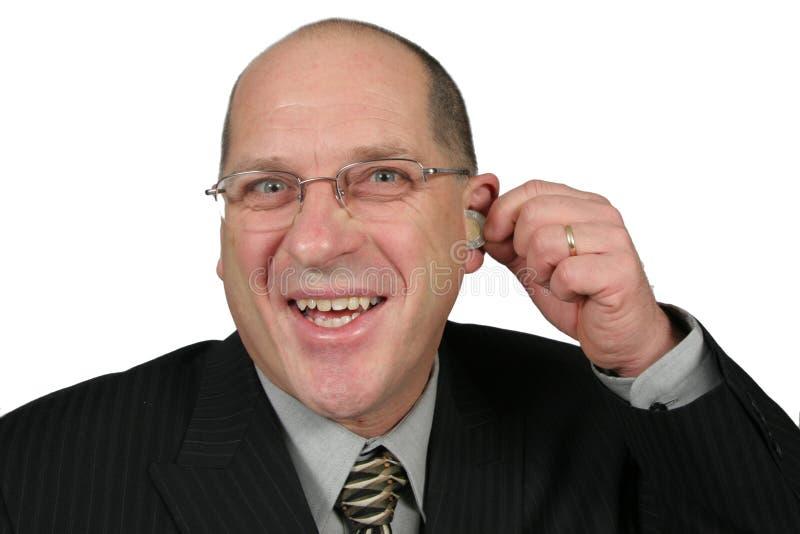 我以后的耳朵的货币  库存图片