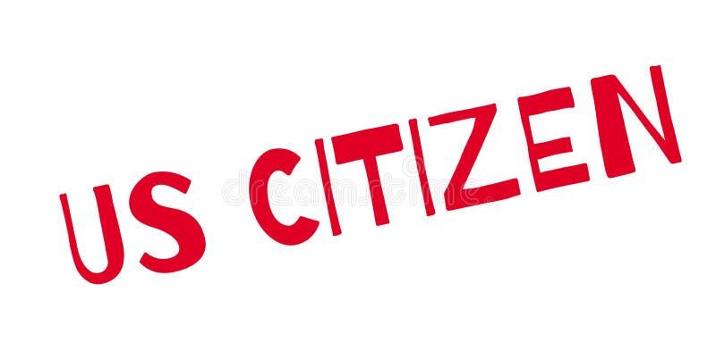 我们公民不加考虑表赞同的人 库存例证
