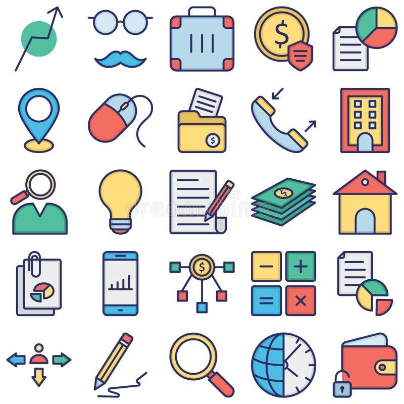 我们有了贸易图标Vector 这些贸易图标包旨在让您准备好访问您的业务站点、应用程序ico 库存照片