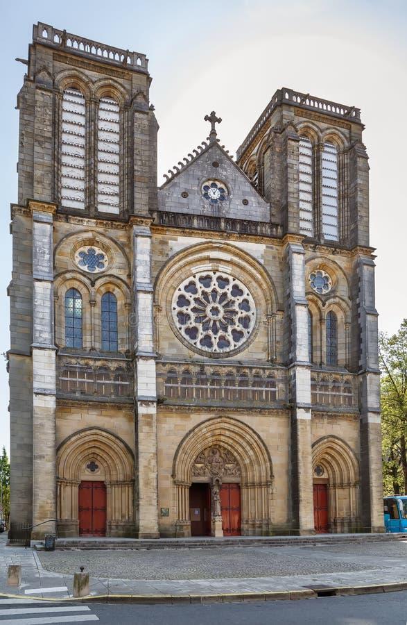 我们的夫人教区,巴约讷,法国 免版税库存图片
