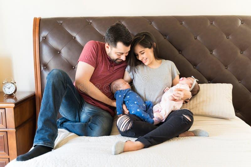 我们的家庭增长 图库摄影
