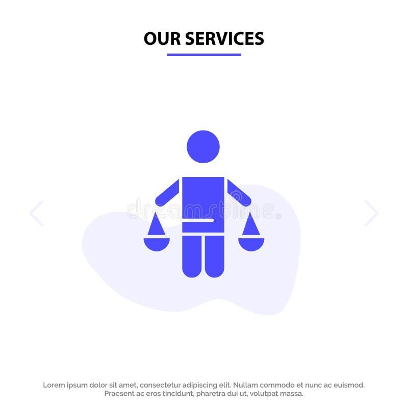 我们的服务给予专利,结论,法院,评断,法律坚实纵的沟纹象网卡片模板 皇族释放例证