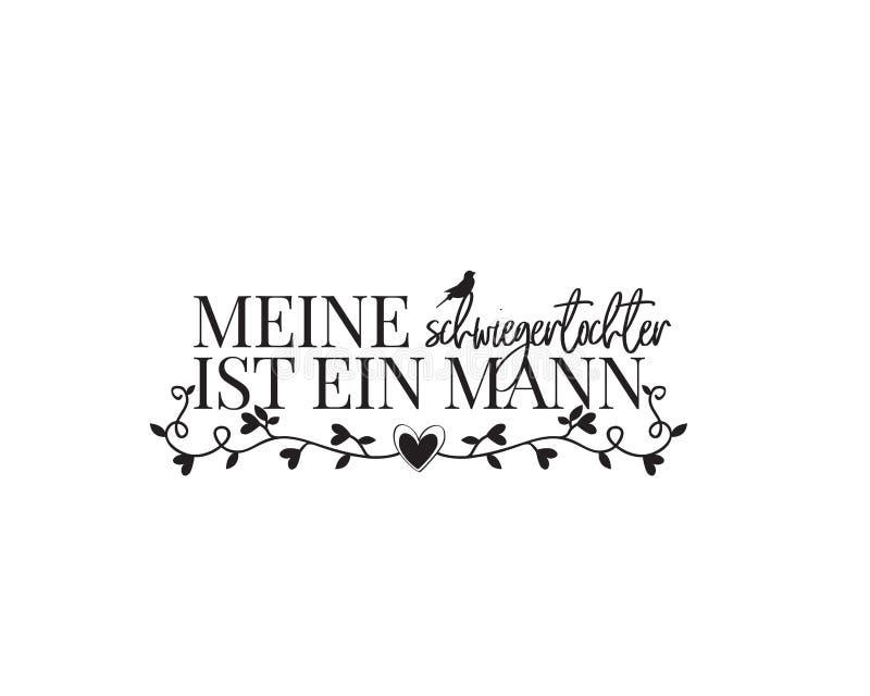 我们需要的所有是爱,德语,传染媒介,字词设计,字法,海报设计,爱行情 库存例证