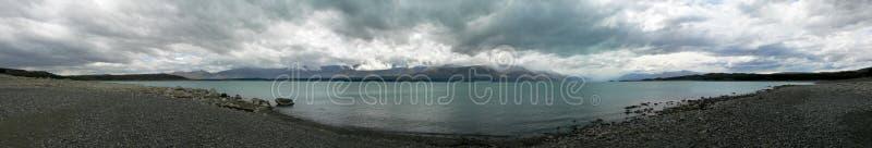 我全景湖的横向 免版税库存照片