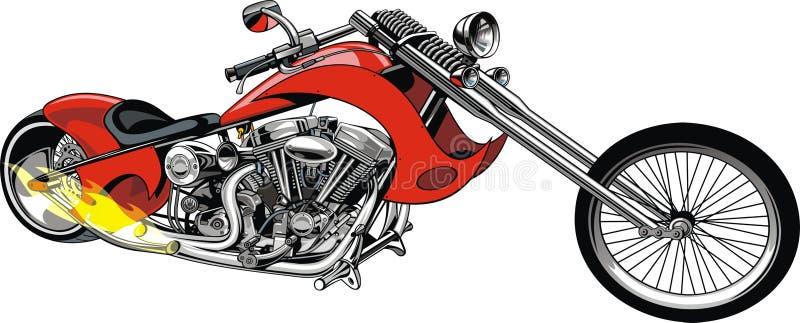 我原始的摩托车 皇族释放例证