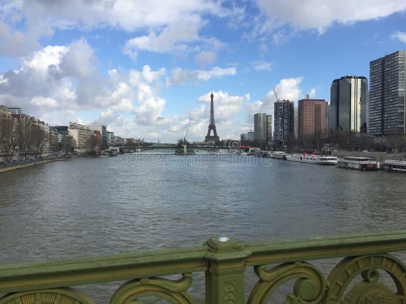 巴黎我可爱的城市 免版税图库摄影
