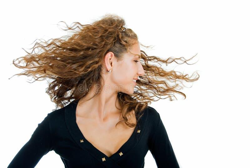 我喜欢我的头发 图库摄影