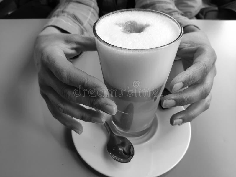 我喜欢的咖啡 库存照片