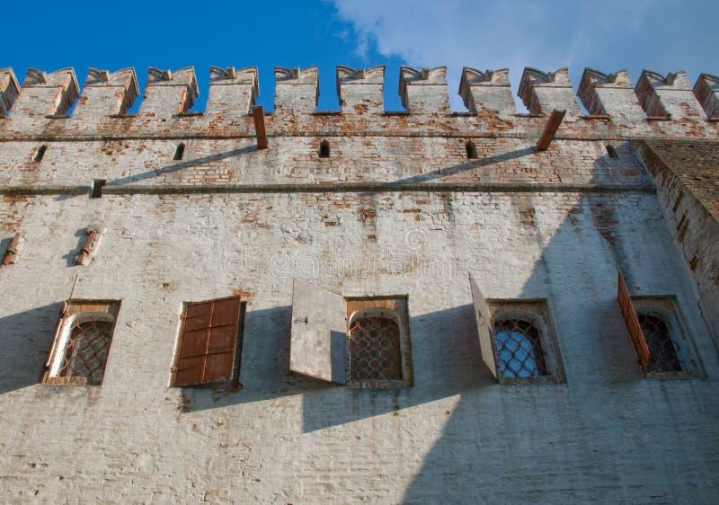 我堡垒的房子 库存照片