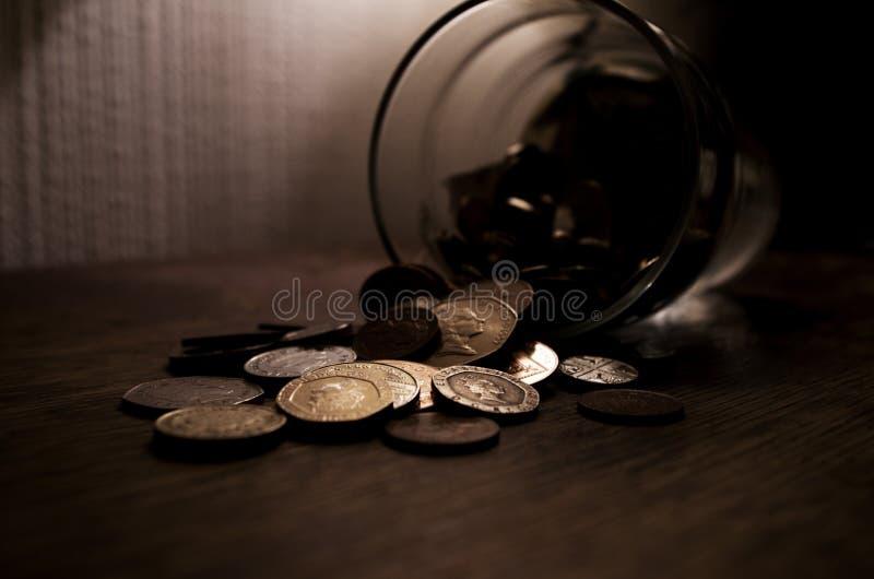 我小的储款 免版税库存图片