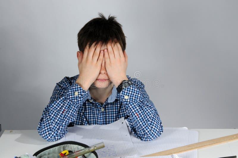 我恨数学 免版税图库摄影