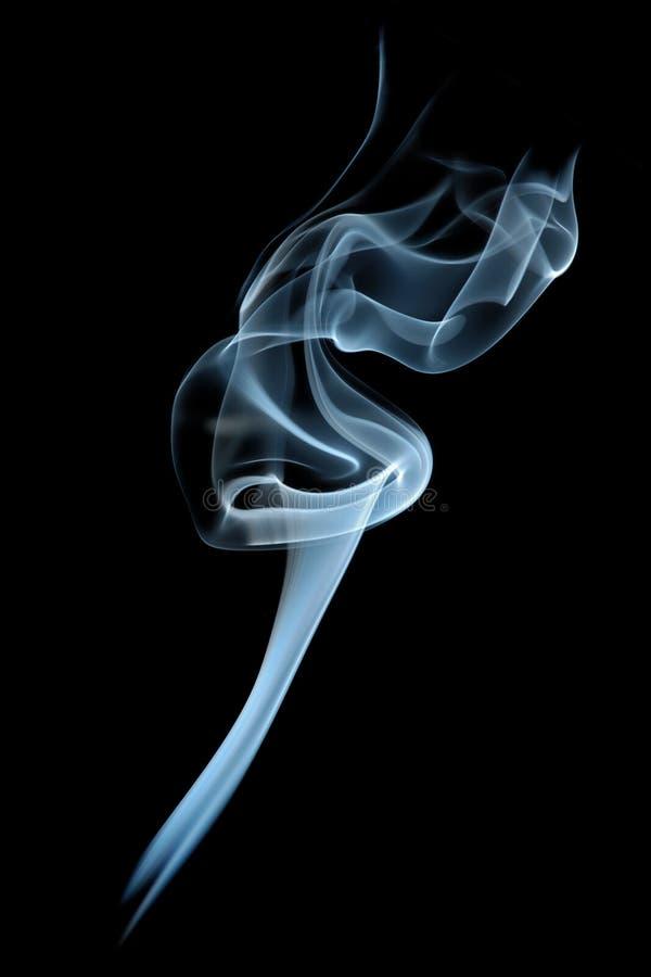 我激怒抽烟 免版税库存图片