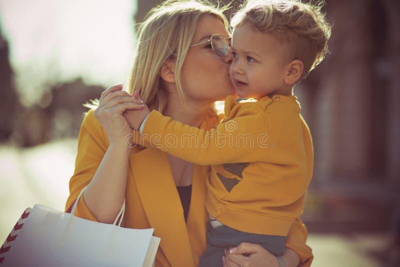 我爱你我的小人 免版税库存照片