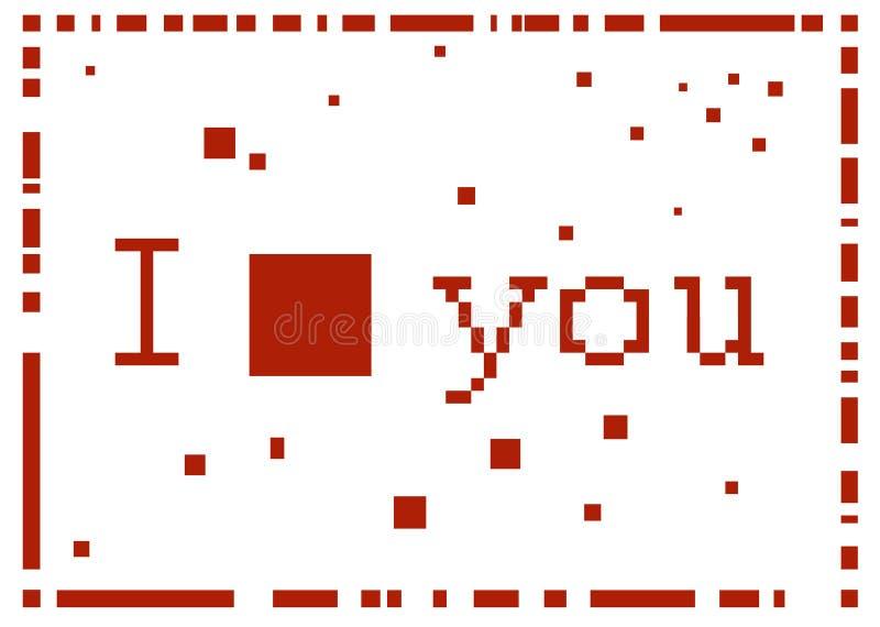 我爱你 库存照片