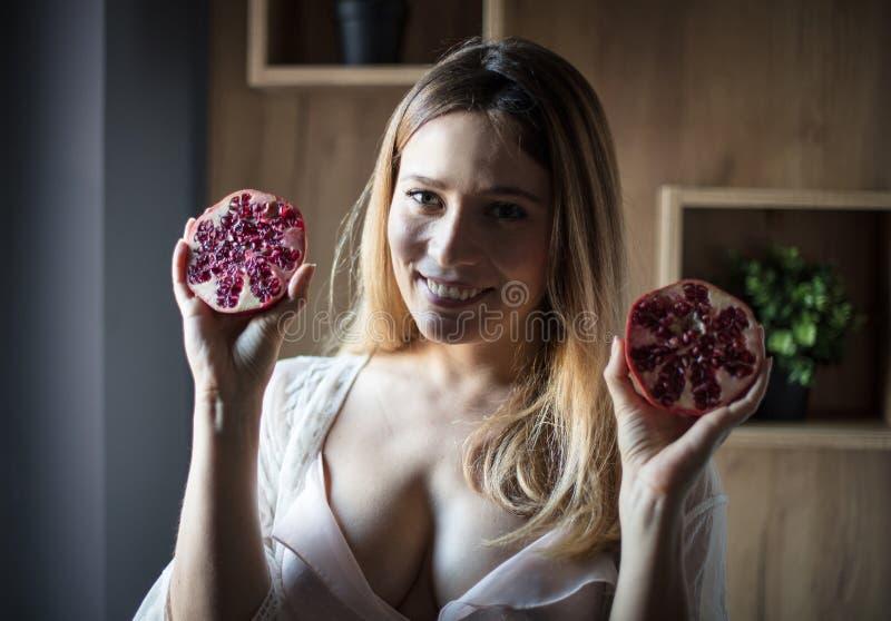我爱健康食品 库存图片