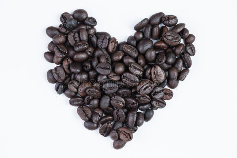 我爱咖啡概念 免版税库存图片