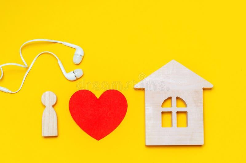 我爱房子音乐 Electonic音乐 电镀物品,恍惚,深房子 免版税库存图片