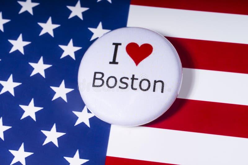 我爱波士顿 图库摄影