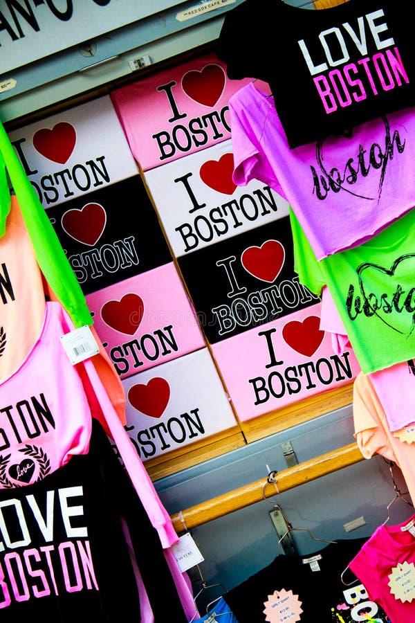 我爱波士顿! 免版税库存照片