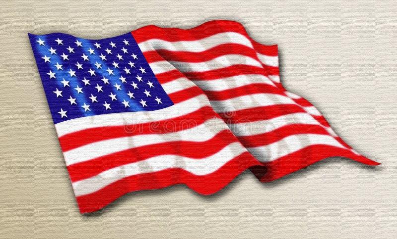 我爱的美国 图库摄影