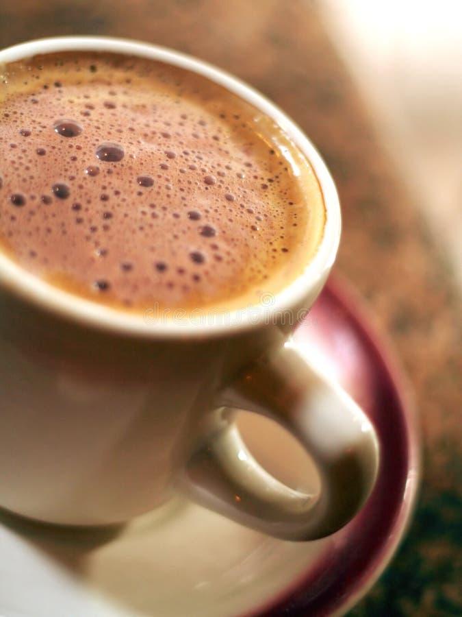 我生日的上等咖啡 库存图片