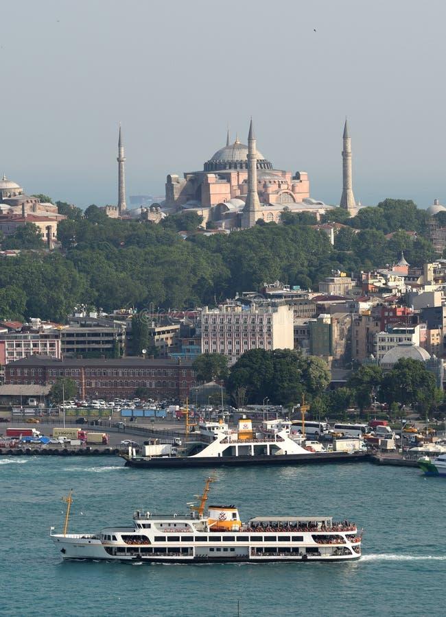 我的伊斯坦布尔 免版税库存照片