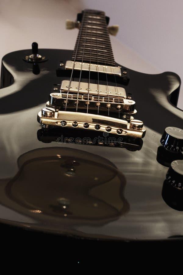 我的吉他 库存图片
