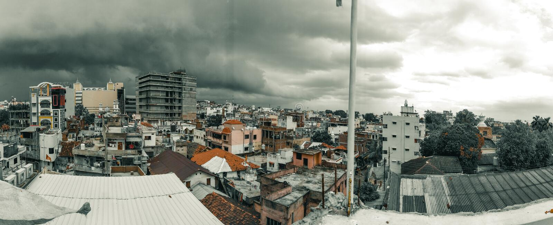 我的城市那格普尔马哈拉施特拉印度 库存照片